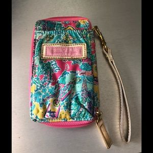 Lilly Pulitzer  Wallet / cellphone wristlet